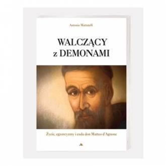 Walczący z demonami - okładka książki