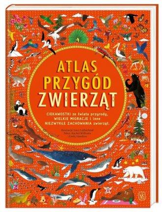 Atlas przygód zwierząt - okładka książki