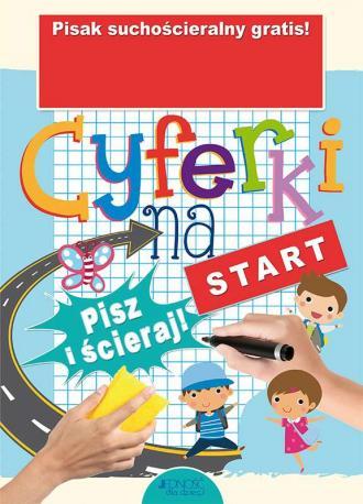 Cyferki na start - okładka książki