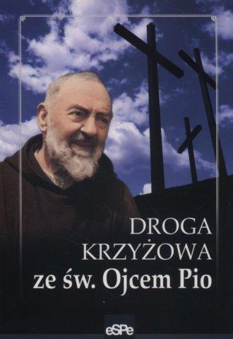 Droga krzyżowa ze św Ojcem Pio - okładka książki