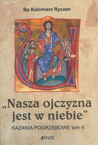 Nasza ojczyzna jest w niebie - okładka książki