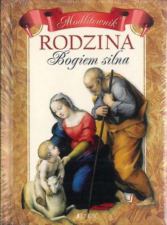 Rodzina Bogiem silna - okładka książki