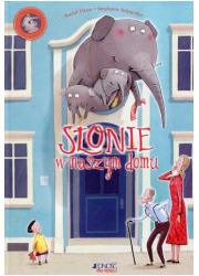Słonie w naszym domu - okładka książki