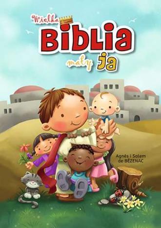 Wielka Biblia mały ja - okładka książki
