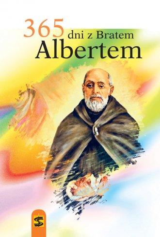 365 dni z bratem Albertem - okładka książki