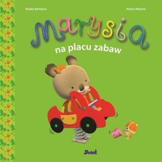 Marysia na placu zabaw - okładka książki