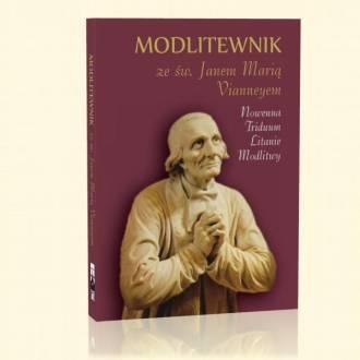 Modlitewnik ze św. Janem M. Vianneyem - okładka książki