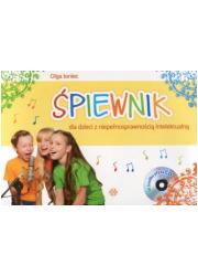 Śpiewnik dla dzieci z niepełnosprawnością - okładka książki