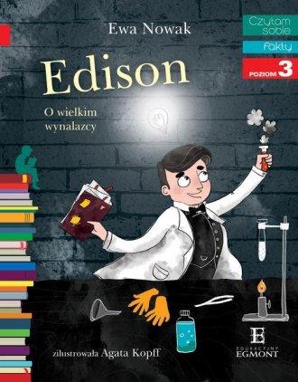 Czytam sobie. Edison. O wielkim - okładka książki