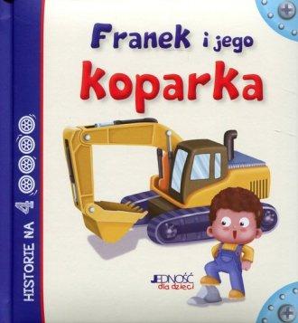 Franek i jego koparka - okładka książki