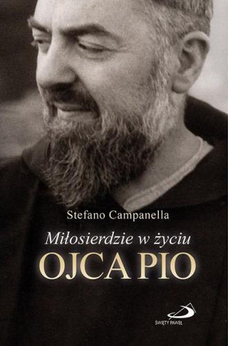 Miłosierdzie w życiu Ojca Pio - okładka książki