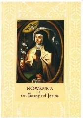 Nowenna do św. Teresy od Jezusa - okładka książki