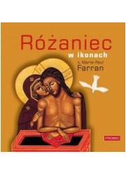 Różaniec w ikonach - okładka książki