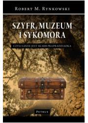 Szyfr, muzeum i sykomora - czyli - okładka książki