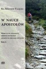 W nauce Apostołów - okładka książki