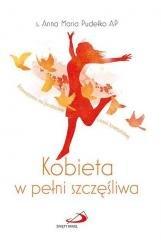 Kobieta w pełni szczęśliwa - okładka książki