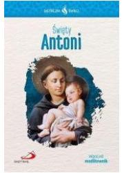 Święty Antoni. Seria: Skuteczni - okładka książki