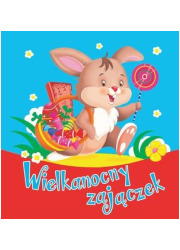 Wielkanocny zajączek - okładka książki