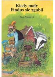 Kiedy mały Findus się zgubił - okładka książki