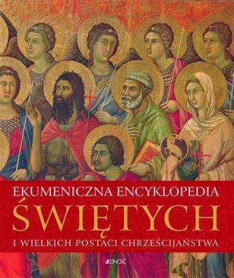 Ekumeniczna encyklopedia świętych - okładka książki