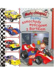 Poznaj samochody wyścigowe z Bartkiem. - okładka książki