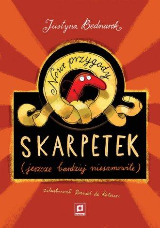 Nowe przygody skarpetek (jeszcze - okładka książki