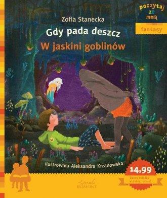 Gdy pada deszcz. W jaskini goblinów - okładka książki