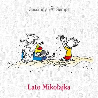 Lato Mikołajka - okładka książki
