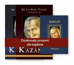 Kazania Św. Jan Maria Vianney. - okładka książki