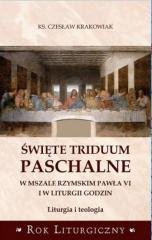Święte Triduum Paschalne w Mszale - okładka książki
