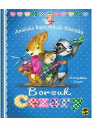 Borsuk Cezary. Anielska bajeczka - okładka książki