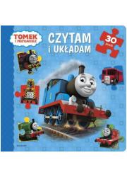 Czytam i układam. Tomek i przyjaciele - okładka książki