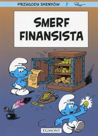 Przygody Smerfów. Smerf finansista - okładka książki