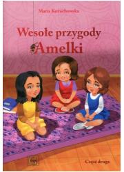 Wesołe przygody Amelki cz. 2 - okładka książki