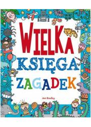 Wielka księga zagadek - okładka książki