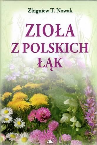 Zioła z polskich łąk - okładka książki