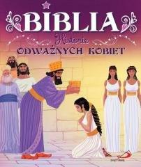 Biblia. Historie odważnych kobiet - okładka książki