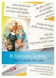 Bł. Franciszka Siedliska. Myśli - okładka książki
