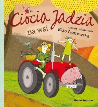 Ciocia Jadzia na wsi - okładka książki