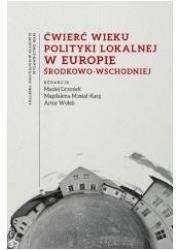 Ćwierć wieku polityki lokalnej - okładka książki