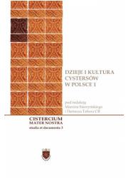 Dzieje i kultura cystersów w Polsce - okładka książki