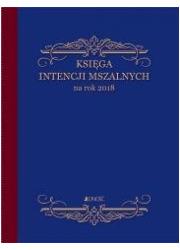 Księga intencji mszalnych na rok - okładka książki