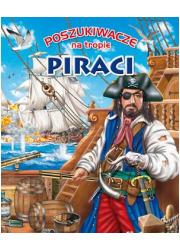 Poszukiwacze na tropie. Piraci - okładka książki