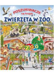 Poszukiwacze na tropie. Zwierzęta - okładka książki