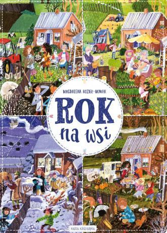 Rok na wsi - okładka książki