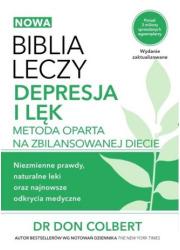 Biblia leczy Depresja i lęk. Metoda - okładka książki