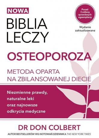 Biblia leczy Osteoporoza. Metoda - okładka książki