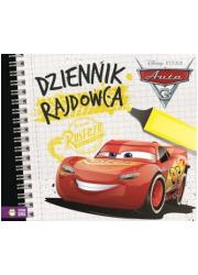 Dziennik rajdowca Auta 3 - okładka książki