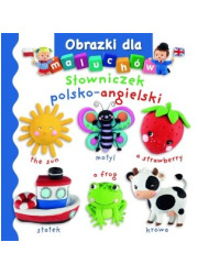 Słowniczek polsko-angielski. Obrazki - okładka książki