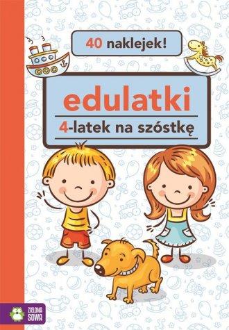 Edulatki 4-latek na szóstkę - okładka książki